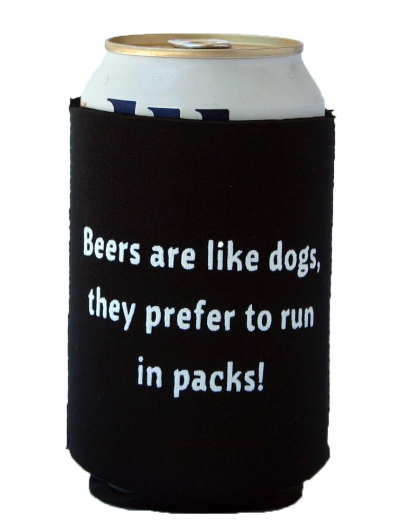 Father's Day Gift Guide for Dog Dads - Beer Cozy